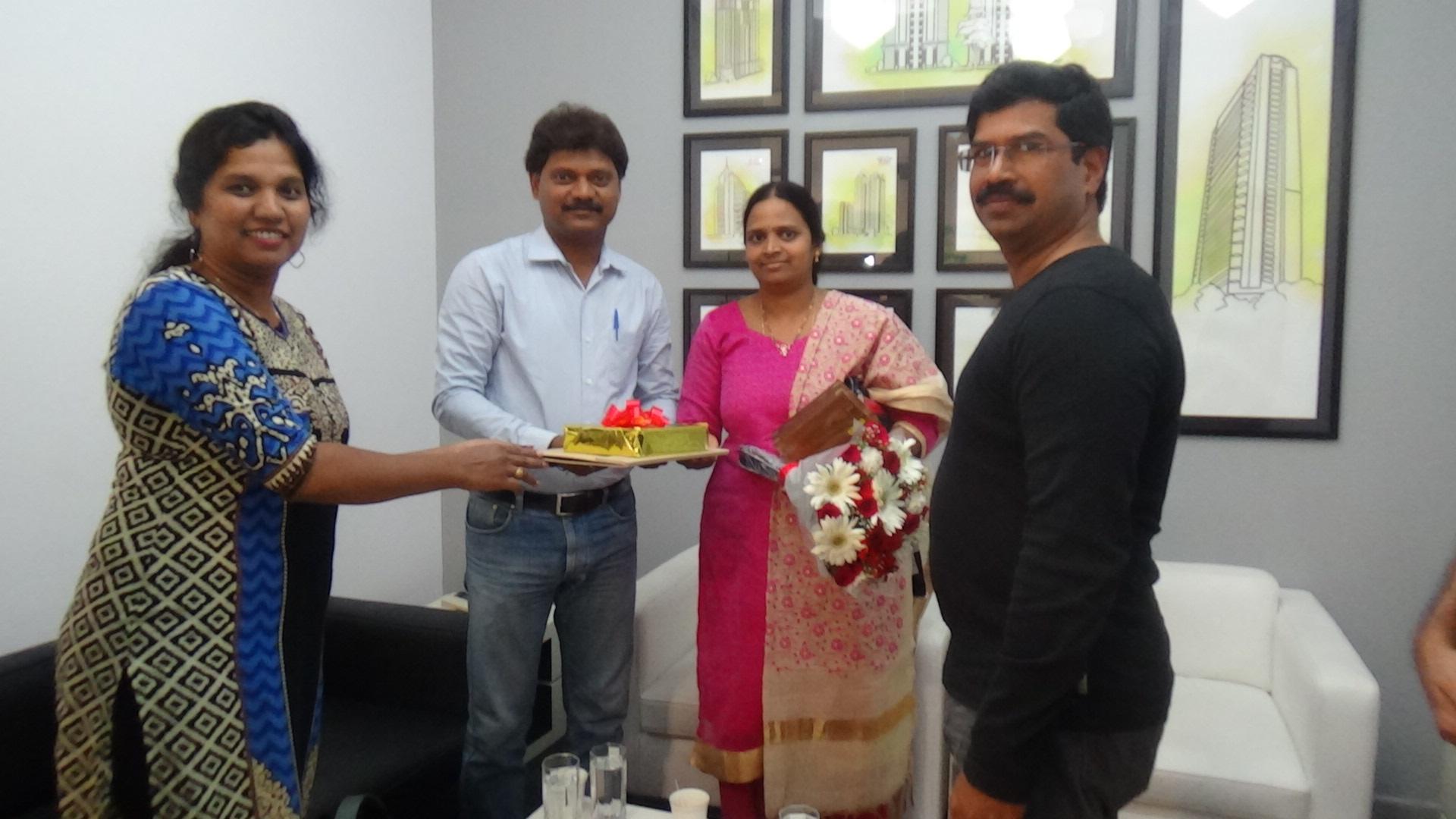 Mr. Kosuru Suresh Babu & Mrs. Kosuru Ammaji